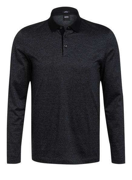 BOSS Jersey-Poloshirt PLEINS Slim Fit, Farbe: SCHWARZ (Bild 1)