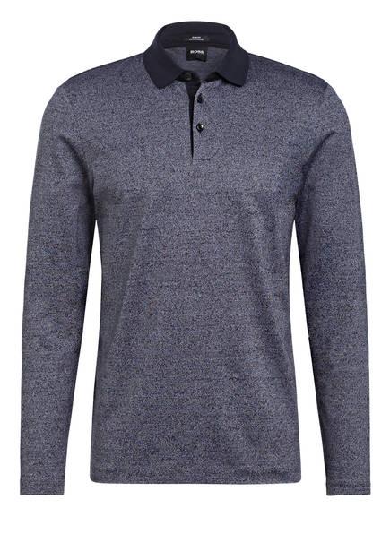 BOSS Jersey-Poloshirt PLEINS Slim Fit, Farbe: DUNKELBLAU (Bild 1)