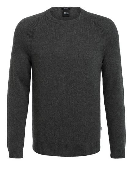 BOSS Cashmere-Pullover BANILO, Farbe: GRAU (Bild 1)