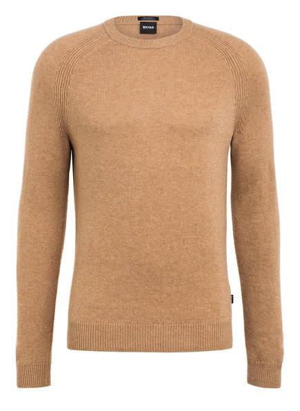 BOSS Cashmere-Pullover BANILO, Farbe: CAMEL (Bild 1)