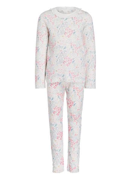 PETIT BATEAU Schlafanzug, Farbe: CREME/ ROSA/ BLAU (Bild 1)