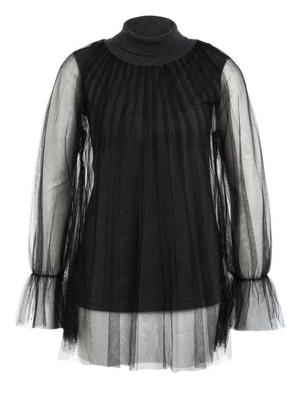 FABIANA FILIPPI 2-in-1-Pullover, Farbe: GRAU (Bild 1)
