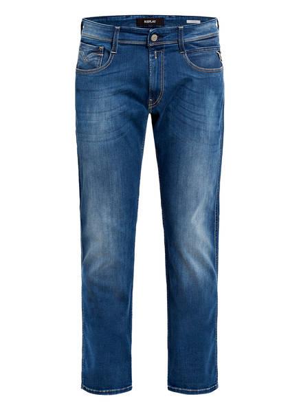 REPLAY Jeans ANBASS Slim Fit, Farbe: 009 MEDIUM BLUE (Bild 1)
