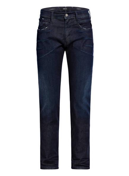REPLAY Jeans ANBASS HYPERFLEX CLOUDS Slim Fit, Farbe: 007 DARK BLUE (Bild 1)