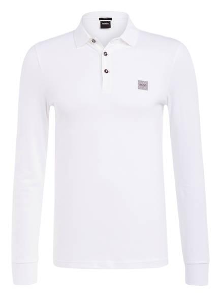 BOSS Piqué-Poloshirt PASSERBY Slim Fit, Farbe: WEISS (Bild 1)