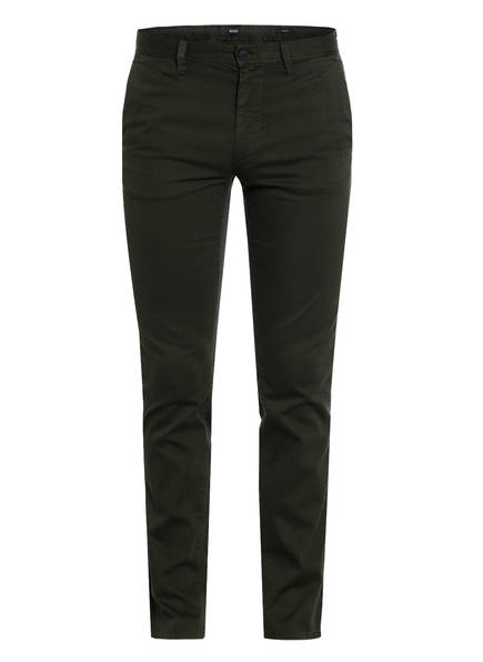 BOSS Chino MODERN Slim Fit , Farbe: DUNKELGRÜN (Bild 1)
