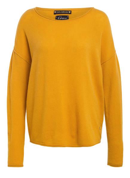 Grace Cashmere-Pullover, Farbe: GELB (Bild 1)
