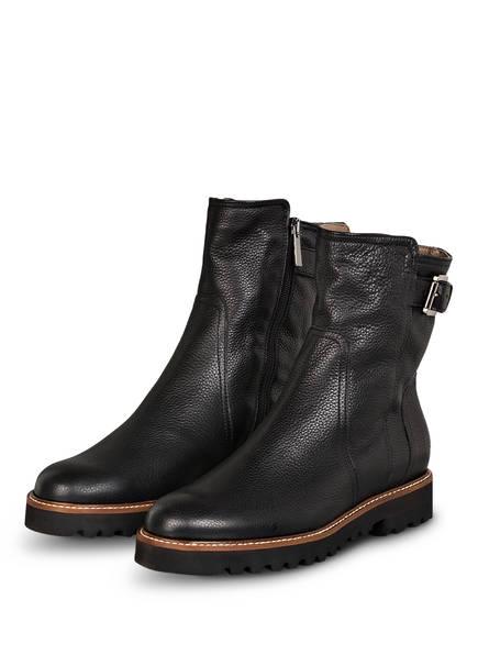 VIAMERCANTI Boots AUSILIA, Farbe: SCHWARZ/ TAUPE (Bild 1)