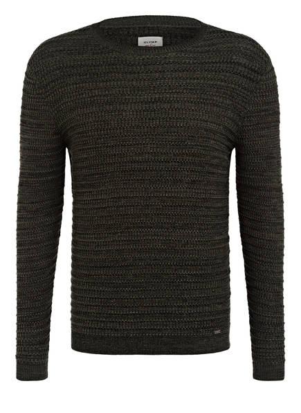 OLYMP Pullover , Farbe: OLIVE (Bild 1)