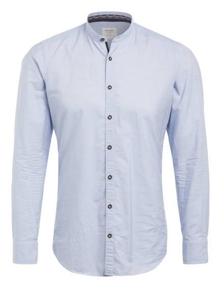 OLYMP Trachtenhemd Body Fit , Farbe: HELLBLAU/ WEISS GESTREIFT (Bild 1)
