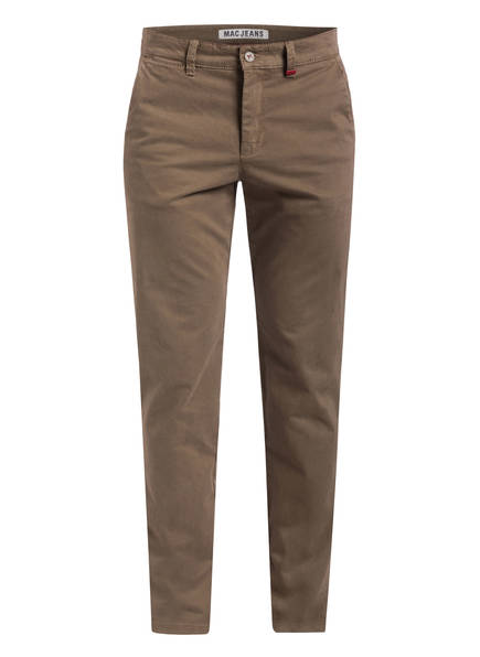 MAC Chino LENNOX Modern Fit, Farbe: HAVANNA PRINTED (Bild 1)