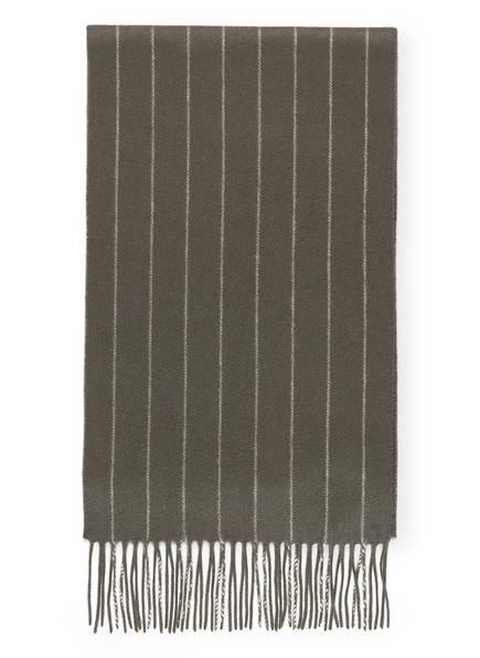 STROKESMAN'S Cashmere-Schal, Farbe: OLIV (Bild 1)