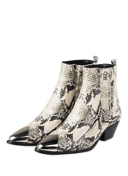 SCHUTZ Cowboy Boots LUCCYEN, Farbe: ECRU/ SCHWARZ (Bild 1)