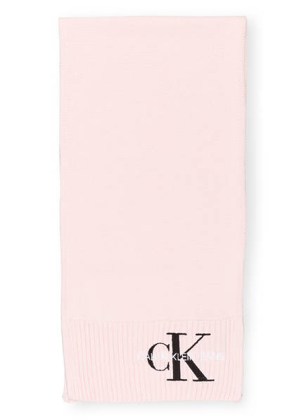 Calvin Klein Jeans Schal, Farbe: HELLROSA (Bild 1)