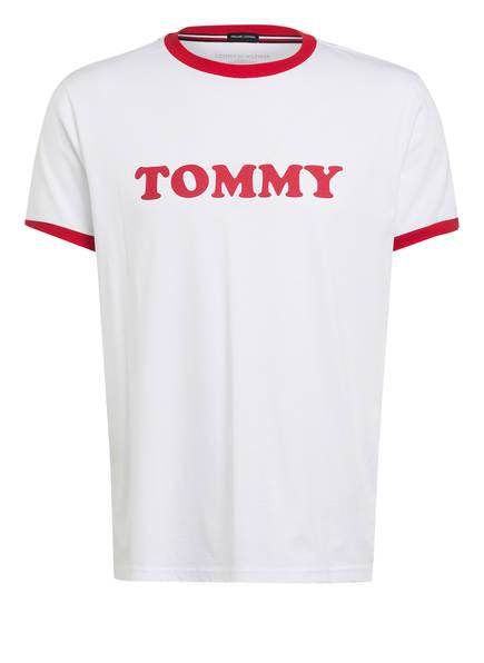 TOMMY HILFIGER Schlafshirt, Farbe: WEISS (Bild 1)