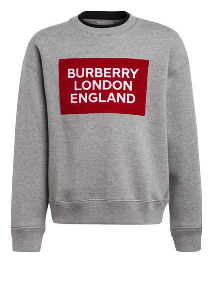 BURBERRY Sweatshirt, Farbe: HELLGRAU (Bild 1)