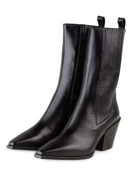 aeyde Cowboy Boots ARI , Farbe: SCHWARZ (Bild 1)