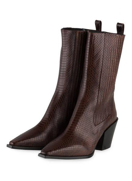 aeyde Cowboy Boots ARI , Farbe: BRAUN (Bild 1)