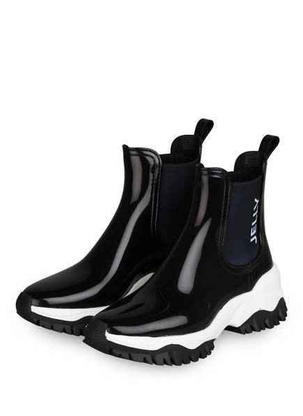 LEMON JELLY Chelsea-Boots JAYDEN mit Zitronenduft, Farbe: SCHWARZ/ WEISS (Bild 1)