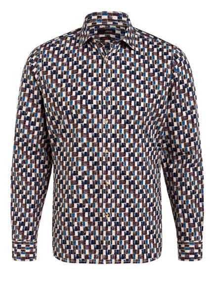 CINQUE Hemd CISTEVE Slim Fit, Farbe: BEIGE/ BRAUN/ BLAU (Bild 1)