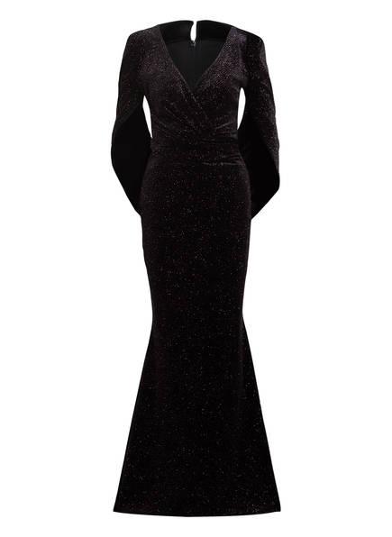 TALBOT RUNHOF Abendkleid ROSIN 13, Farbe: 999 SCHWARZ GLITZER (Bild 1)
