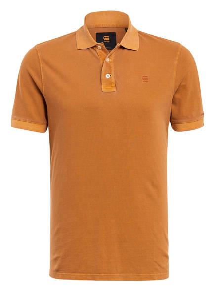 G-Star RAW Piqué-Poloshirt, Farbe: CAMEL (Bild 1)