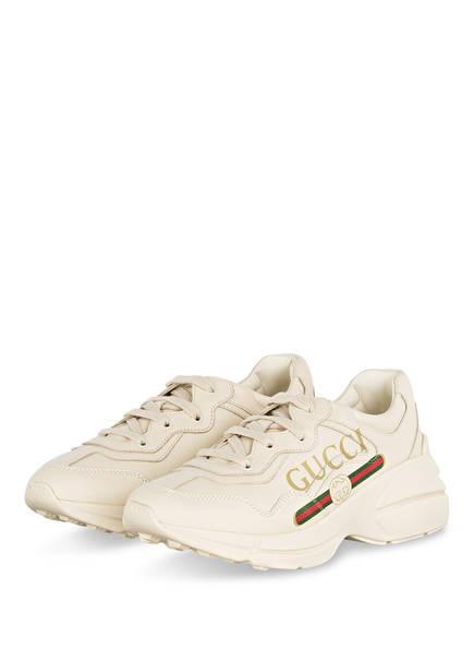 GUCCI Sneaker RHYTON, Farbe:  IVORIE (Bild 1)