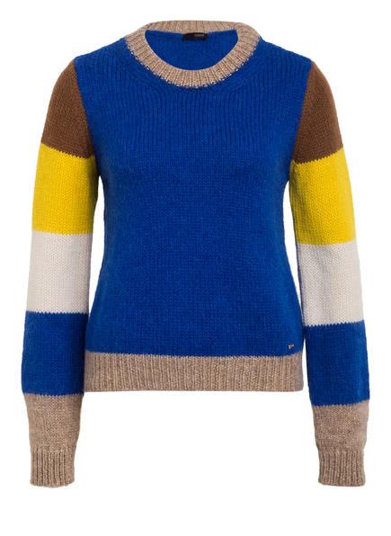 CINQUE Pullover CIFEE , Farbe: BLAU/ CAMEL (Bild 1)