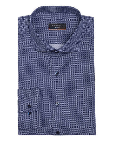 ETERNA Hemd Slim Fit, Farbe: BLAU/ WEISS (Bild 1)