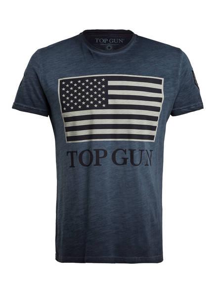 TOP GUN T-Shirt, Farbe: DUNKELBLAU (Bild 1)
