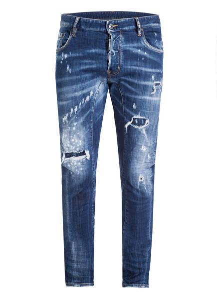 DSQUARED2 Destroyed Jeans TIDY BIKER, Farbe: BLUE (Bild 1)