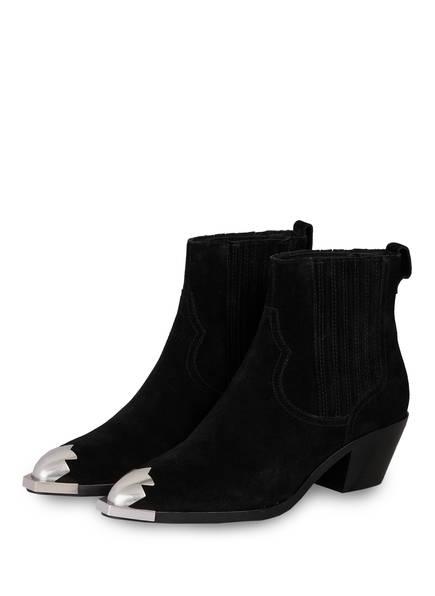ash Cowboy Boots FLOYD, Farbe: SCHWARZ (Bild 1)