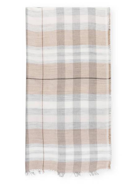 DARLING HARBOUR Schal, Farbe: CAMEL/ WEISS/ GRAU (Bild 1)