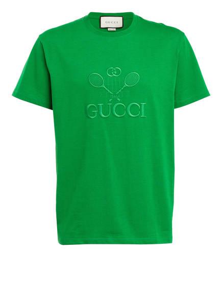 GUCCI T-Shirt, Farbe: DUNKELGRÜN (Bild 1)