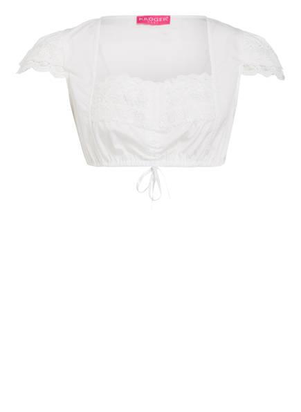 KRÜGER Dirndlbluse JASMIN, Farbe: WEISS (Bild 1)