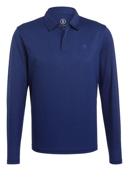 BOGNER Piqué-Poloshirt TIMON-3, Farbe: MITTELBLAU (Bild 1)