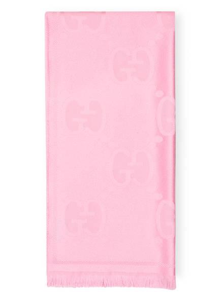 GUCCI Schal, Farbe: ROSA (Bild 1)