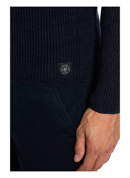 MARC O'POLO Strickoberteile & Pullover   Marc O'polo Rollkragenpullover blau