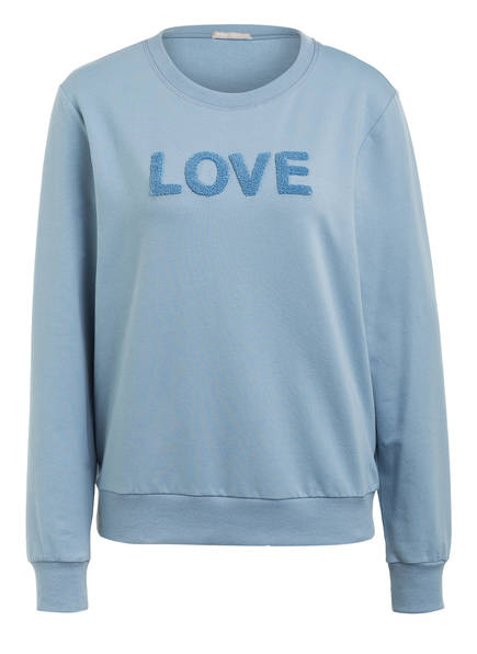 mey Lounge-Sweatshirt NIGHT2DAY, Farbe: HELLBLAU (Bild 1)