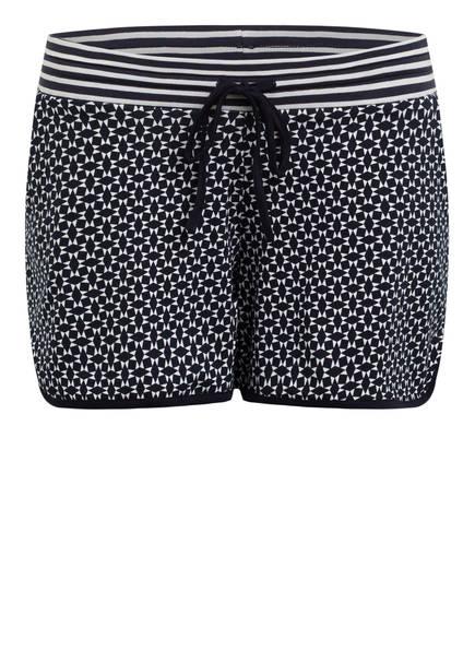 mey Lounge-Shorts Serie NIGHT2DAY, Farbe: DUNKELBLAU/ WEISS (Bild 1)