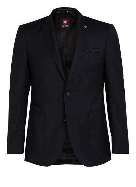 CG CLUB of GENTS Sakko ALEC Tailored Fit, Farbe: SCHWARZ (Bild 1)