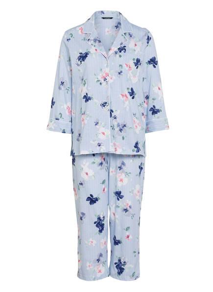 LAUREN RALPH LAUREN Schlafanzug, Farbe: HELLBLAU/ WEISS (Bild 1)