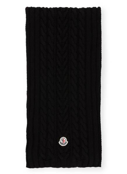 MONCLER Wollschal , Farbe: SCHWARZ (Bild 1)
