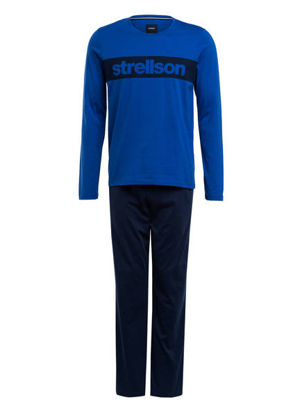 strellson Schlafanzug, Farbe: BLAU (Bild 1)
