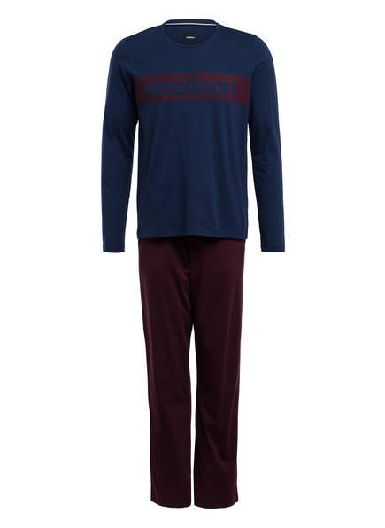 strellson Schlafanzug, Farbe: DUNKELBLAU (Bild 1)