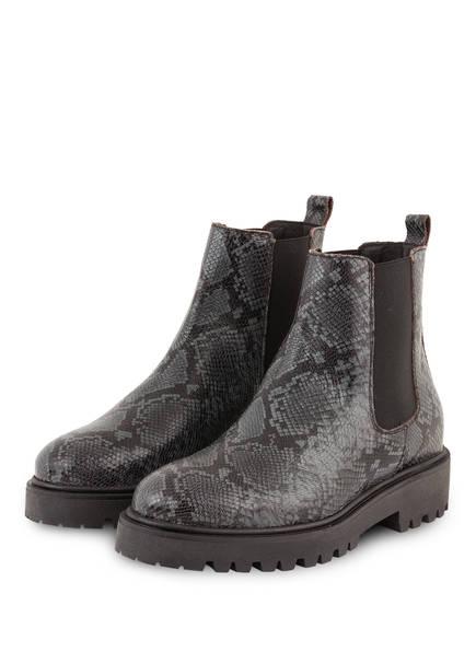 Mrs & HUGS Chelsea-Boots , Farbe: GRAU/ SCHWARZ (Bild 1)