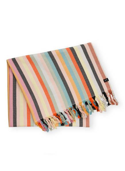 SLOWTIDE Strandtuch PARKER, Farbe: ORANGE/ HELLBLAU/ BEIGE (Bild 1)