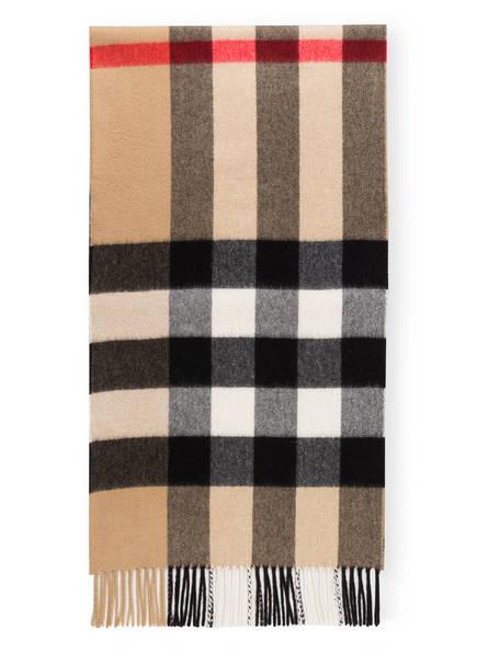 BURBERRY Cashmere-Schal, Farbe: HALFMEGACHECK/ ARCHIVE BEIGE (Bild 1)