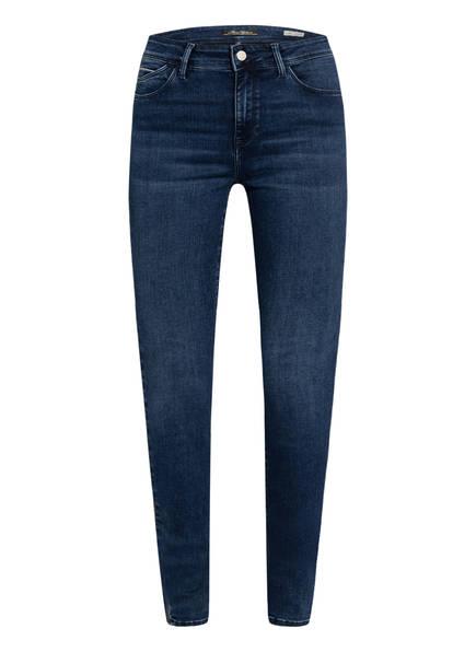 mavi Skinny Jeans NICOLE mit Galonstreifen, Farbe: INK CHIC LUX EMBELISHED BLUE (Bild 1)