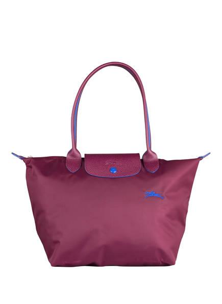 LONGCHAMP Shopper LE PLIAGE CLUB S, Farbe: DUNKELROT (Bild 1)